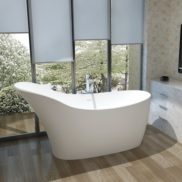 Hankin began to provide users world-wide with high-quality solid surface stone bathtub and wash basin since 2008
